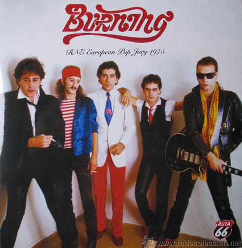 Burning – RNE European Pop Jury  1975 - Precio: 20€